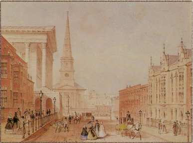Birmingham Town Hall and Paradise Street