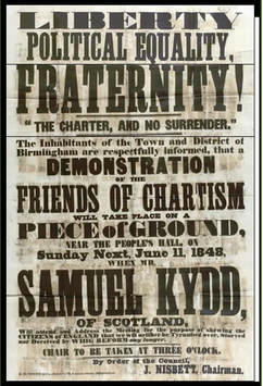 Image: Chartism Demonstration in Birmingham
